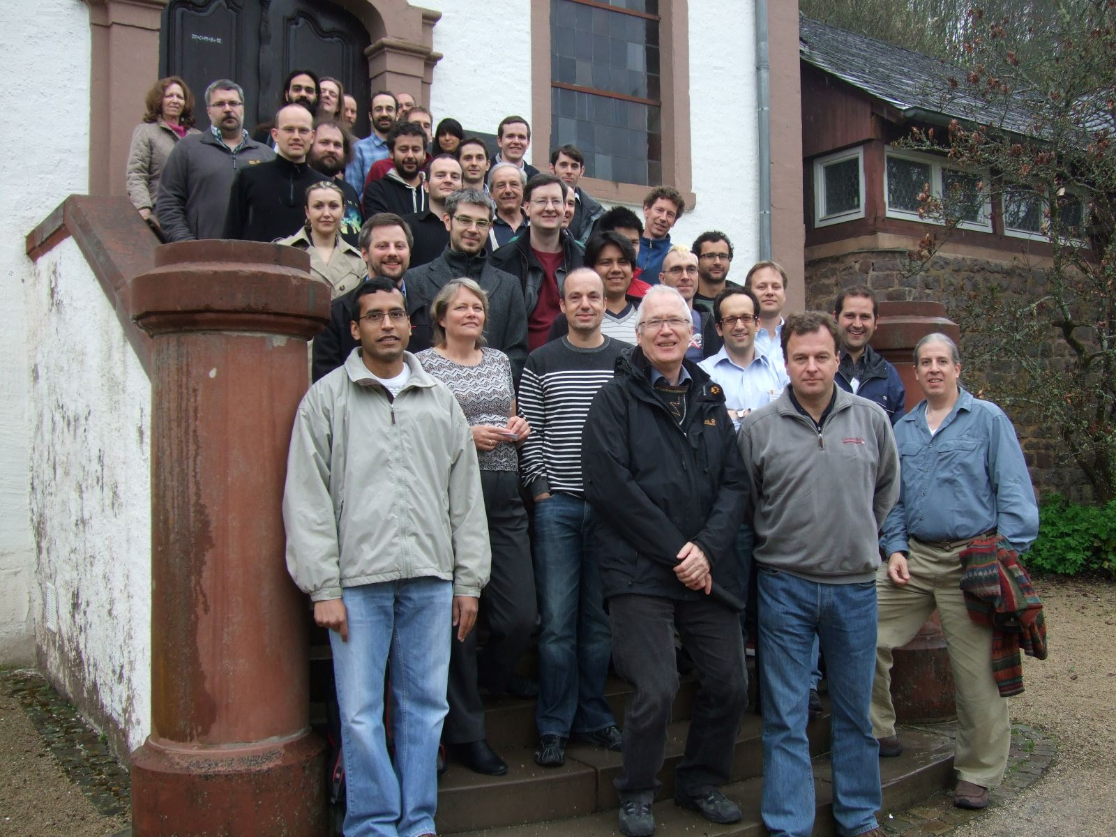 Semantic Data Management Group photo