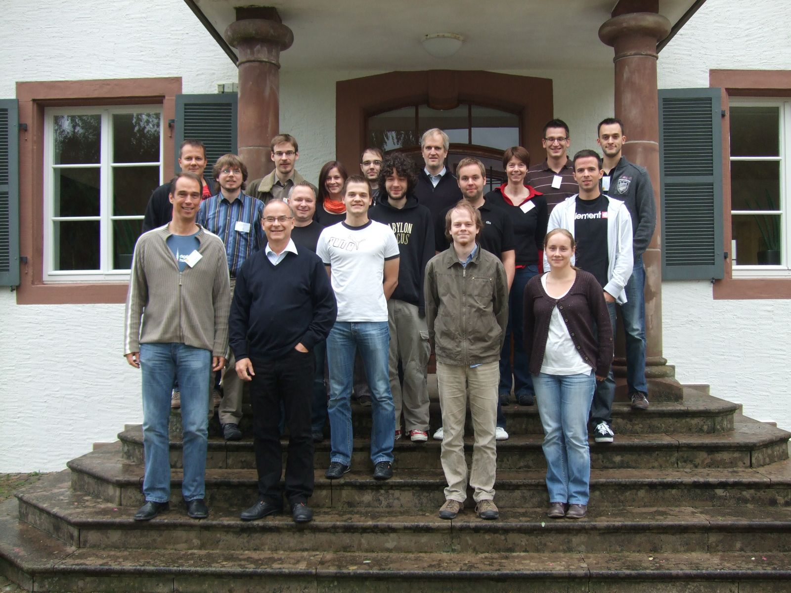 Participants of the 2012 IR Autumn School